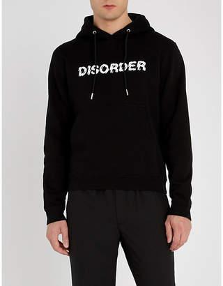 Sandro Disorder cotton-jersey hoody