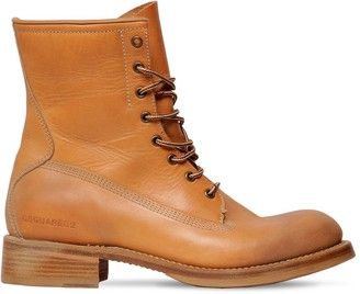 DSQUARED2 Leather Work Boots