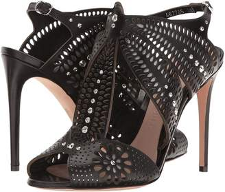 Alexander McQueen Sandal Pelle S.Cuoio High Heels