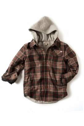 Appaman Plaid Hooded Jacket