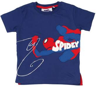 bd83266bc Spiderman Fabric Flavours Print Cotton Jersey T-Shirt
