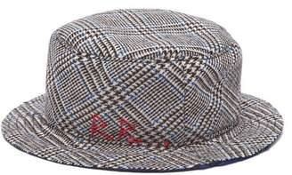 Ruslan Baginskiy Prince Of Wales Checked Wool Bucket Hat - Womens - Multi