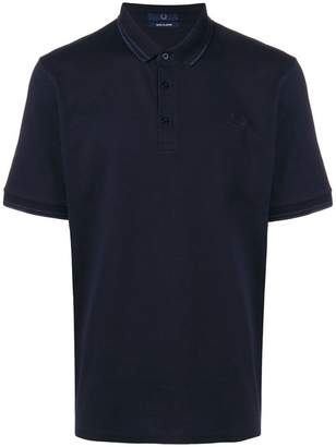 Fred Perry X Art Comes First logo embroidered polo shirt