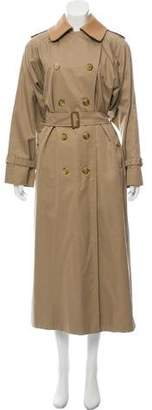 Burberry House Check-Lined Trench Coat