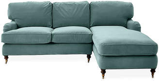 Robin Bruce Brooke Right-Facing Sectional - Sage Crypton