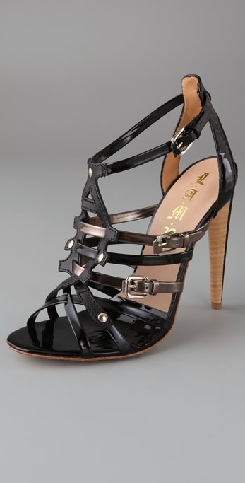 L.a.m.b. Ladonna Strappy High Heel Sandals