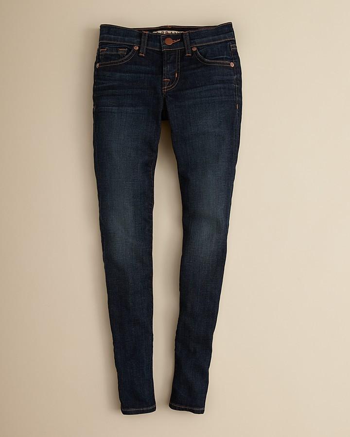 J Brand Girls' Dark Vintage Skinny Jeans - Sizes 7-14