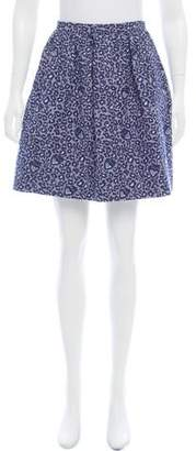 Matthew Williamson Jacquard Mini Skirt