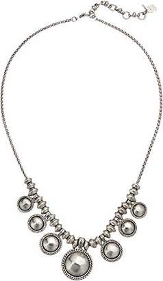 Lucky Brand Women's Chain Bead Collar Necklace