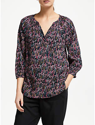 Dahlia Collection WEEKEND by John Lewis Lavinia Meadows Blouse, Multi