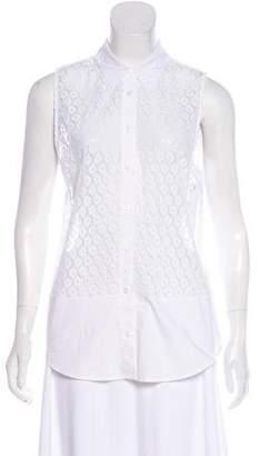 Equipment Lace Sleeveless Dress