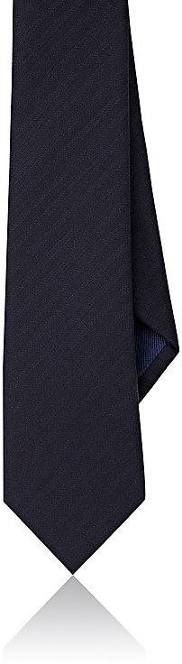 Barneys New YorkBarneys New York Men's Striped Wool-Silk Necktie
