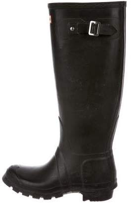 Hunter Rubber Knee-High Rainboots