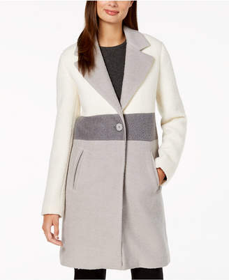 Laundry by Shelli Segal Colorblocked Coat
