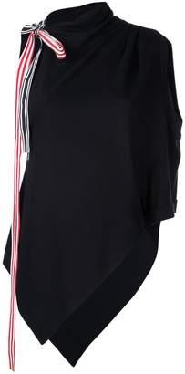 Monse asymmetrical blouse