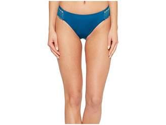 Laundry by Shelli Segal Scallop Lace Hipster Bikini Bottom Women's Swimwear