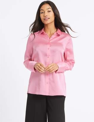 Marks and Spencer Deep Cuff Sleeve Shirt
