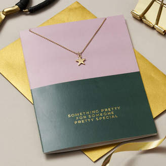 Posh Totty Designs Creates Someone Special Card And Necklace Set