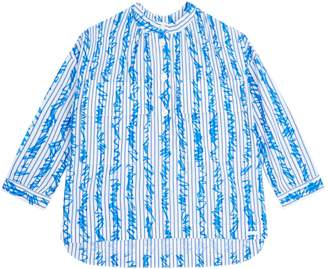 Burberry Scribble Stripe Shirt