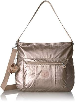 Kipling Carley Metallic Hobo Crossbody Bag