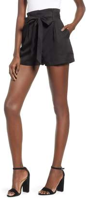 Socialite Tie Front Shorts