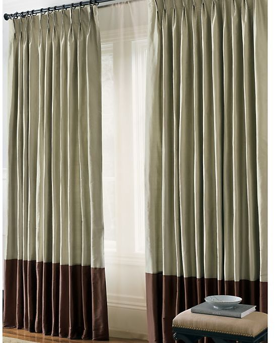 Get the look draper 39 s dapper desk area on mad men for Restoration hardware silk curtains