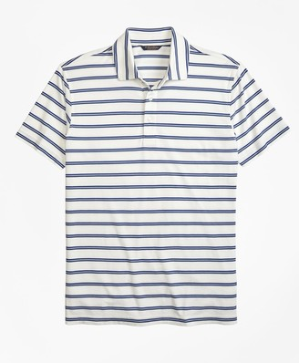 Brooks Brothers Slim Fit Supima Cotton Stripe Polo Shirt
