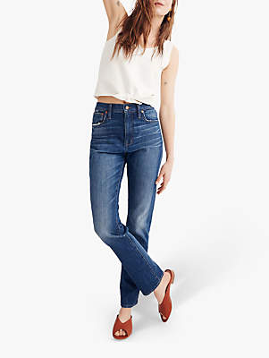 6a33872fa95d3c Madewell High Rise Slim Boyfriend Jeans, Milton Wash