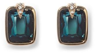 Vince Camuto Blue Jewel Clip-on Earrings