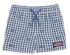 Little & Big Boy's Gingham Shorts