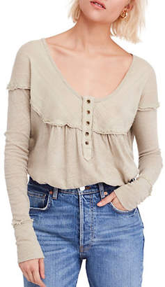 Free People Down Under Long Sleeve Henley