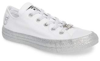 Converse x Miley Cyrus Chuck Taylor All Star Glitter Low Top Sneaker (Women)
