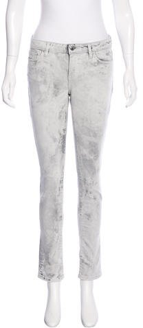 IROIro Acid-Washed Skinny Jeans