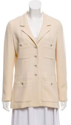Chanel Notch-Lapel Blazer