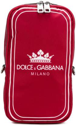 Dolce & Gabbana front logo backpack