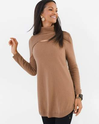 Chico's Keyhole Detail Pullover