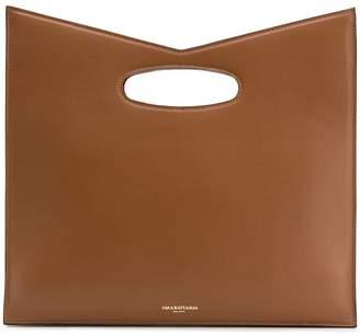 Sara Battaglia square tote bag
