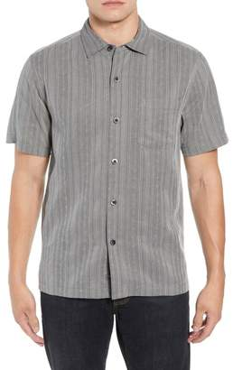 Tommy Bahama San Ramone Regular Fit Stripe Silk Shirt