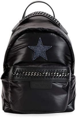 Stella McCartney Falabella Mini Go Star Nylon Backpack
