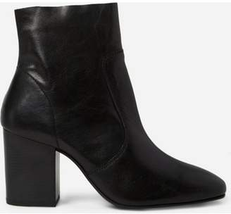 Dorothy Perkins Womens Black 'Abstract' Leather Boots