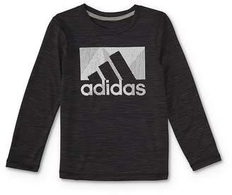 adidas Boys' Classic Logo Tee - Little Kid