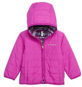 Columbia Double Trouble Reversible Water-Resistant Hooded Jacket