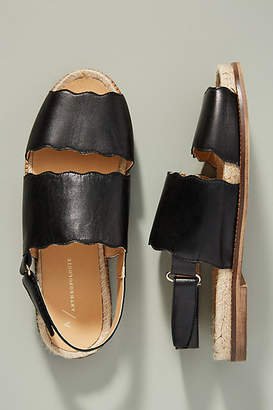 Anthropologie Mollie Leather Sandals