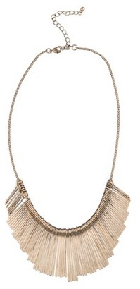 "Stationed Paddle Necklace - 16"" - Gold $16.99 thestylecure.com"