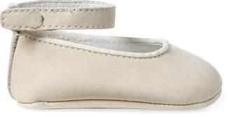 Ralph Lauren Amile Leather Ballet Flat