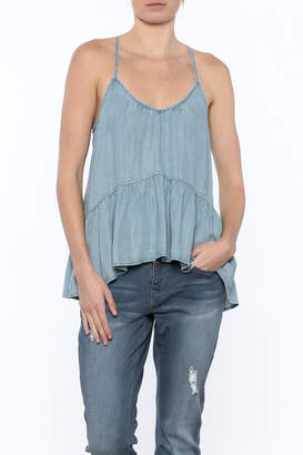 Love Stitch Lovestitch Denim Cami