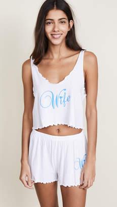 Wildfox Couture Wifey PJ Set