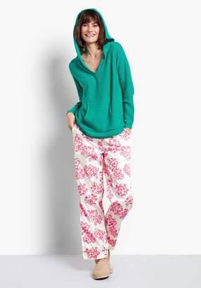 bfaaf78fad Hush Hydrangea Piped Cotton Pj Trousers