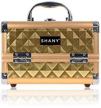 SHANY Mini Makeup Train Case With Mirror -