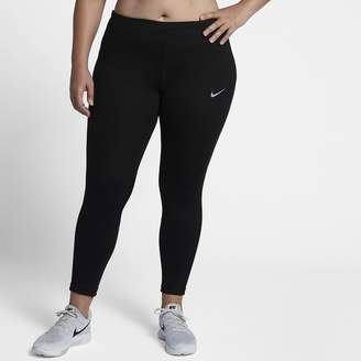 Nike Racer Women's Mid-Rise Running Tights (Plus Size)